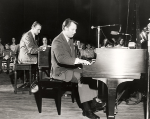 Young Jimmy Swaggart at Piano
